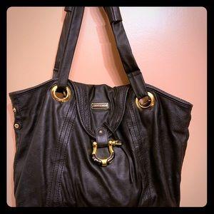 Black Leather Jimmy Choo handbag